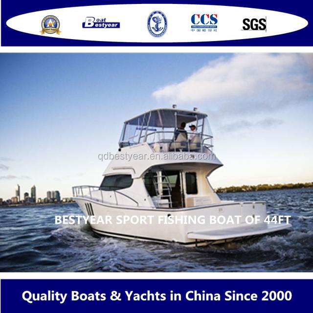 Bestyear Sport Fishing Boat Luxurious Yacht 44FT