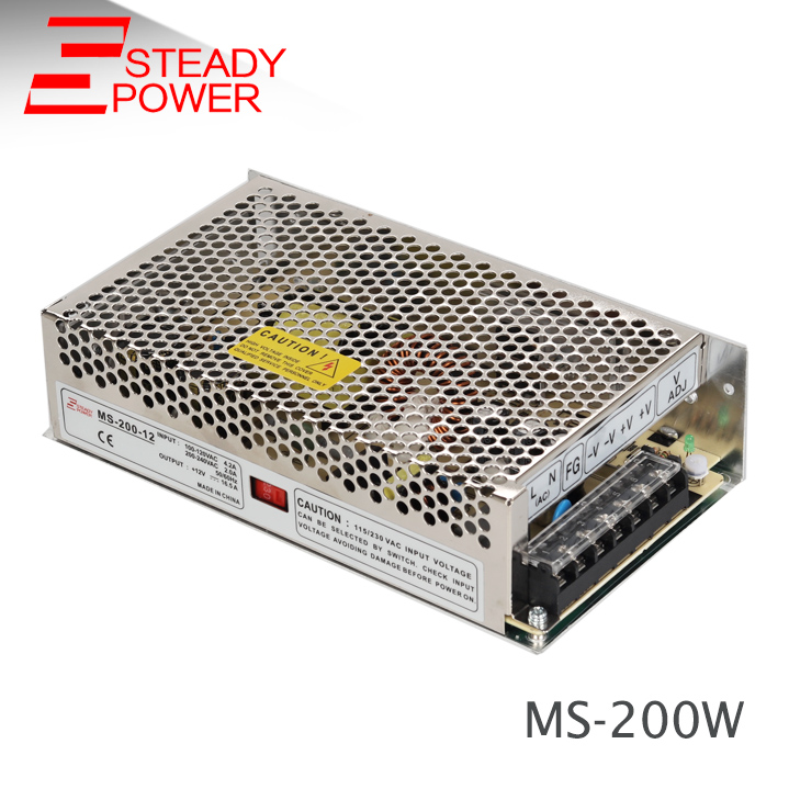 Meanwell Style 200w Mini Size Smps Circuit Board 24 Volt 8 Amp Ac Dc ...