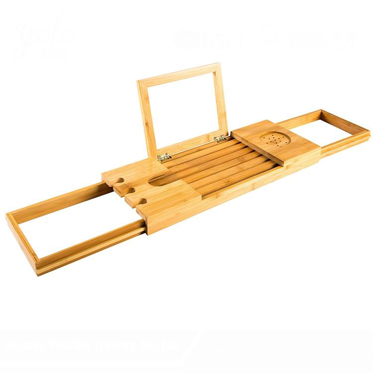 Luxurious Bathtub Tray Bamboo Bath Tub Caddy - Buy Bamboo Bathtub ...