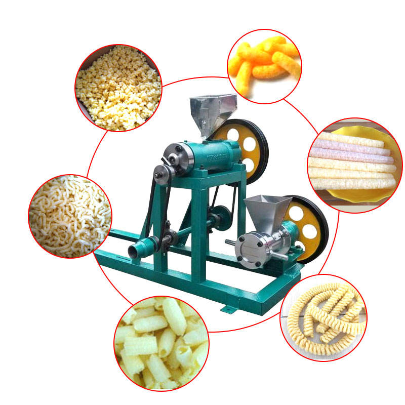 High-Efficiency Energy-Saving Granule Corn Rice Extruder Corn Flour Extruding Machine Without Motor