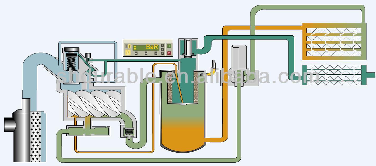 Atlas Copco Air Compressor Piping Diagram