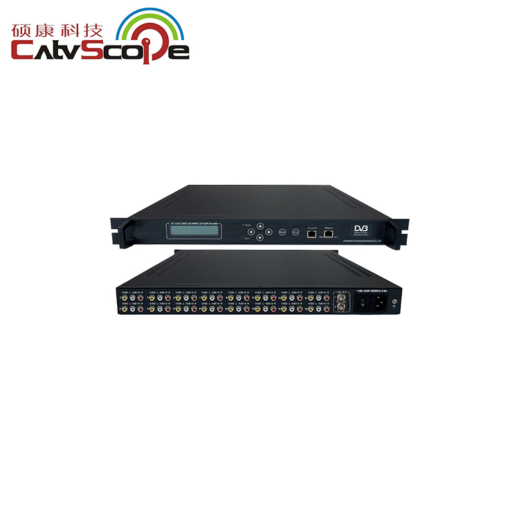 CSP-1314 IPTV attrezzature 16 in1 MPEG-2/H.264 Encoder SD