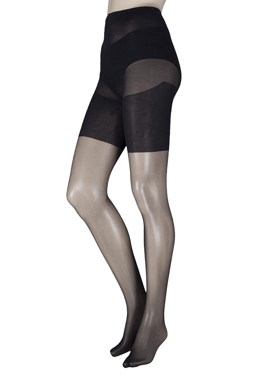 c1ac4589bfe Get Quotations · Pretty Legs BLEX Ladies 1 Pair Xceptionelle Plus Size  Lycra Tights