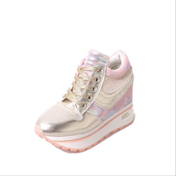 2b84d5946 DL20081B 2017 موضة الاحذية حذاء رياضة المرأة منصة عالية الكعب أحذية ...