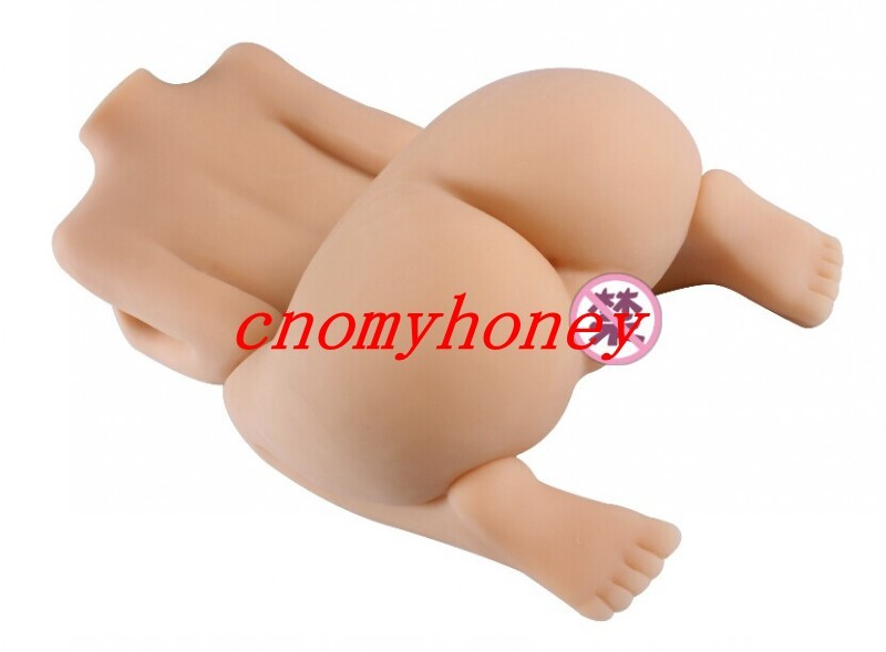 Omyhoney flesh color silicon sex dolls with big breast, 3d lifelike solid love dolls, vagina anal sex toys dolls
