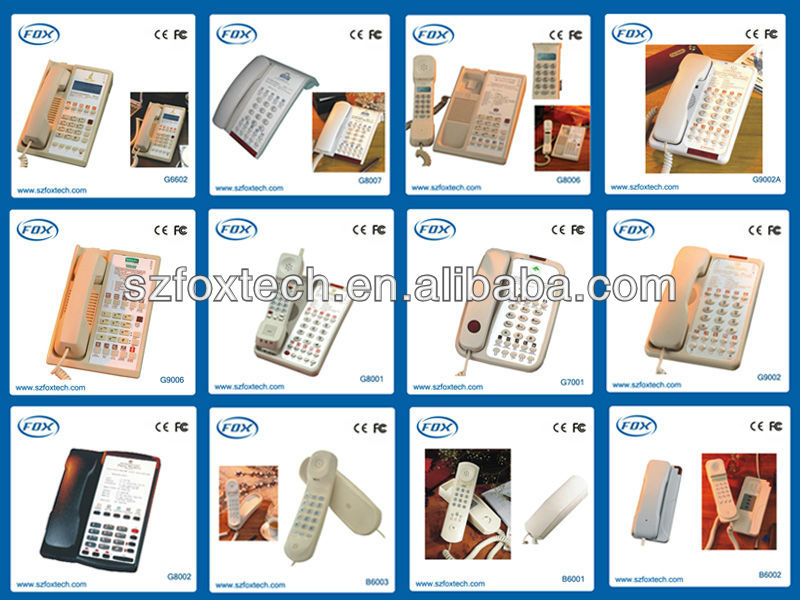 Highly welcomed 5 star hotel using china factory supply hotel sip phone