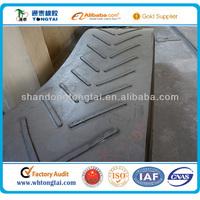iso standard open v rubber conveyor belt