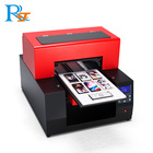 Hot Selling RF-a4 Cheap Flatbed Printing Machine c m y k Wh Varnish Digital Uv Label Printer