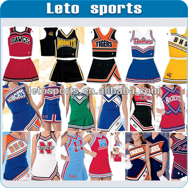 Cheerleader traje/uniformes cheerleading/uniformes para líder da claque