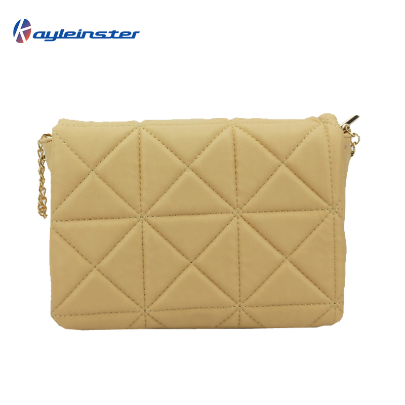 Korean 2015 Leather Women Shoulder Bag Mini Small Fragrant Wind Quilted Chain Messenger Bag Fashion Candy color Crossbody Bag