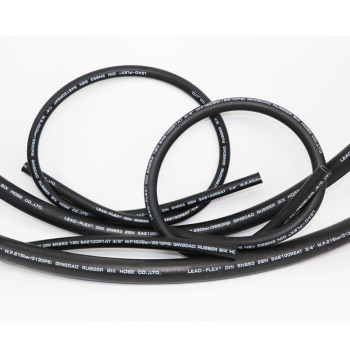high pressure 4 layer steel wire spiral rubber hydraulic hose 4sh 4sp