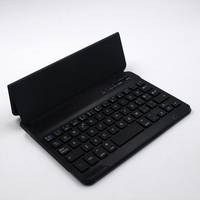 ultal silm Leather case mini wireless bluetooth keyboard for A500 made in china