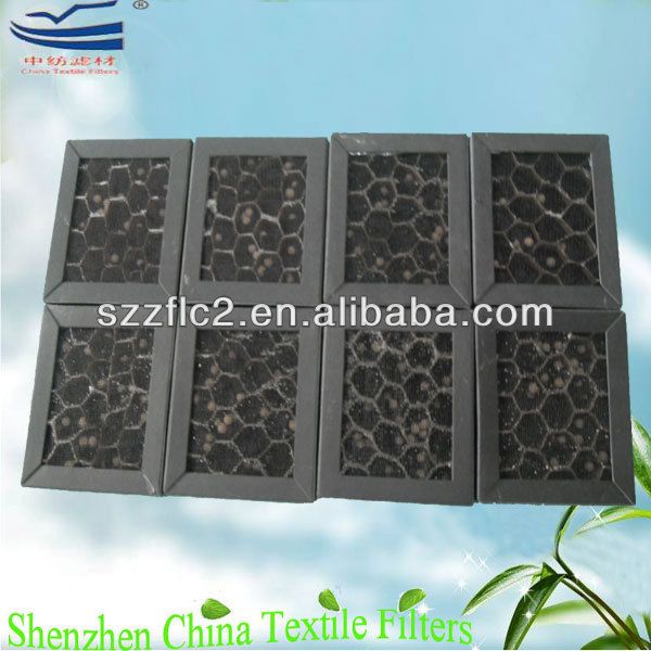 Paper honeycomb carbon air filter ISO 9001:2008 manufacturer