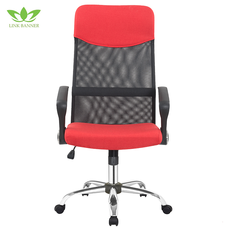 2017 Factory Directly Ergonomic Swivel Lift Recliner Red Computer Office Chair