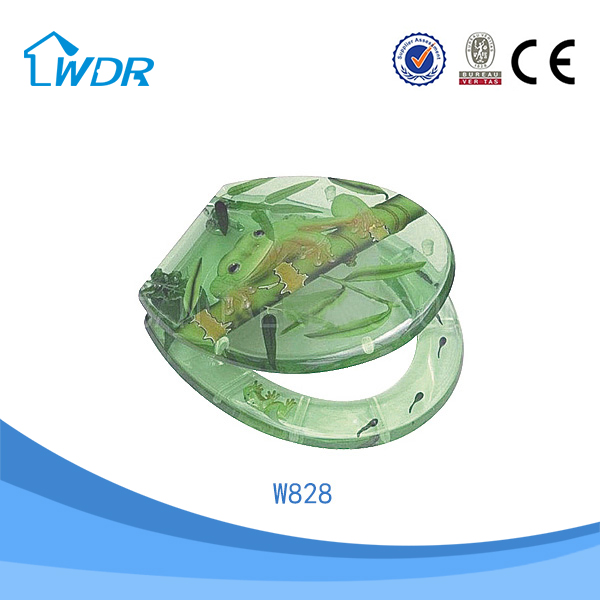Chinese transparent wc resin custom made toilet seats