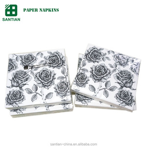 restaurant tablecloths printed tissue paper napkins