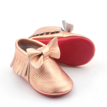 774f48c48bc Wholesale Mary Jane Shoes Baby Bowknots Tassel Soft Sole Leather Red Bottom  Shoes
