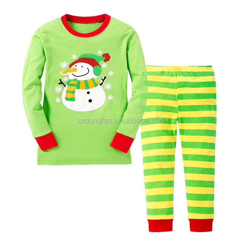 NEW cartoon kids pajama sets children sleepwear boy nightwear girls family christmas  pajamas toddler baby pyjamas 86fb94f02