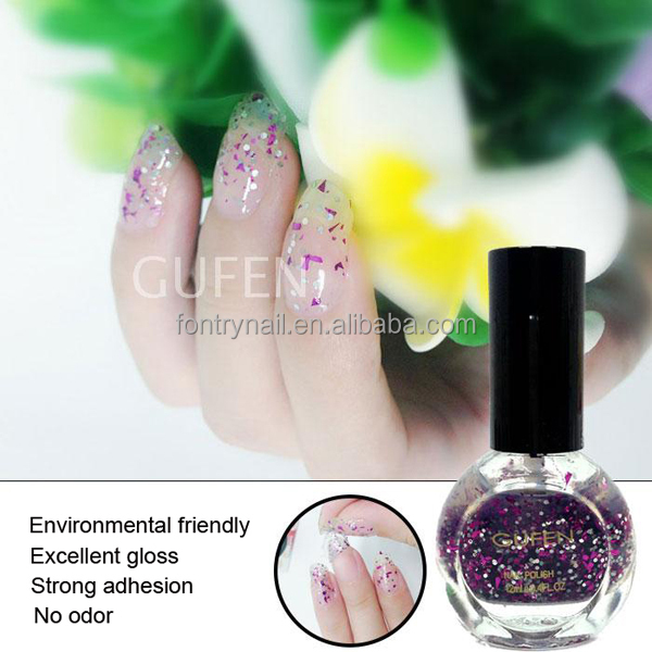 Water Based Easy Peel Off Nail Polish/Harmless Organic Natural Nail Lacquer/Private Label Cosmetics Nail Polish