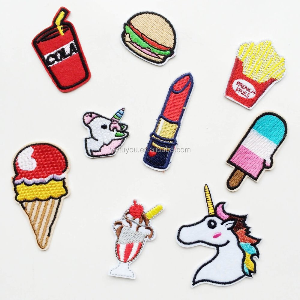 Embroidered Patches Iron-on Sticker DIY Accessory Patch