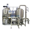 200L home made beer brewing machine system micro brewery plant