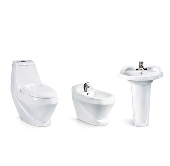 Toilet Set 3 Pieces Toilet Pedetal Basin And Bidet Buy Pedestal