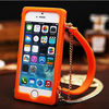 Silicone Phone Case For iphone 4/4s/5/ 5c/5s Lady fashion Handbags!