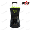 Smart tennis ball machine with remote control