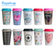 16oz double wall insulated plastic travel mugs/tumbler/cups