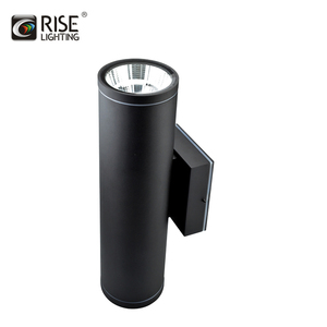 IP65 outdoor 2X10w cob IP65 up and down led wall light for outdoor with SAA CE ROHS