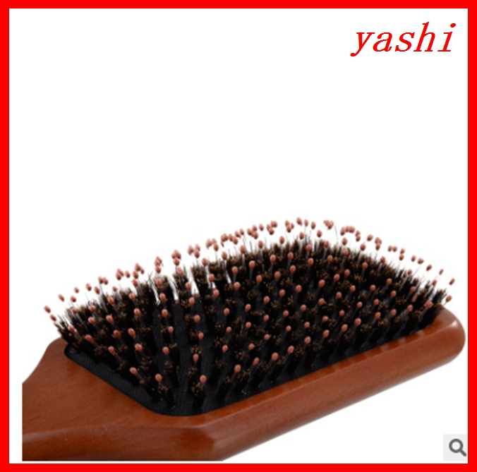 High Quality Professional Boar Bristle Brush Goody Wooden Hair Brushes Wholesale