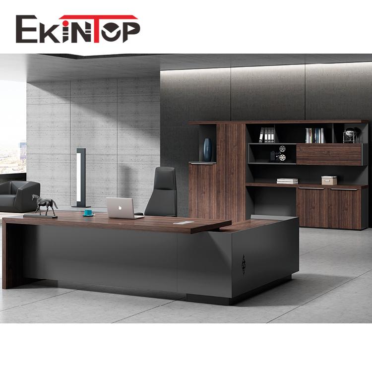 Ekintop modern office furniture desk high tech executive l shaped office  desk, View l shaped office desk, Ekintop Product Details from Foshan Esun