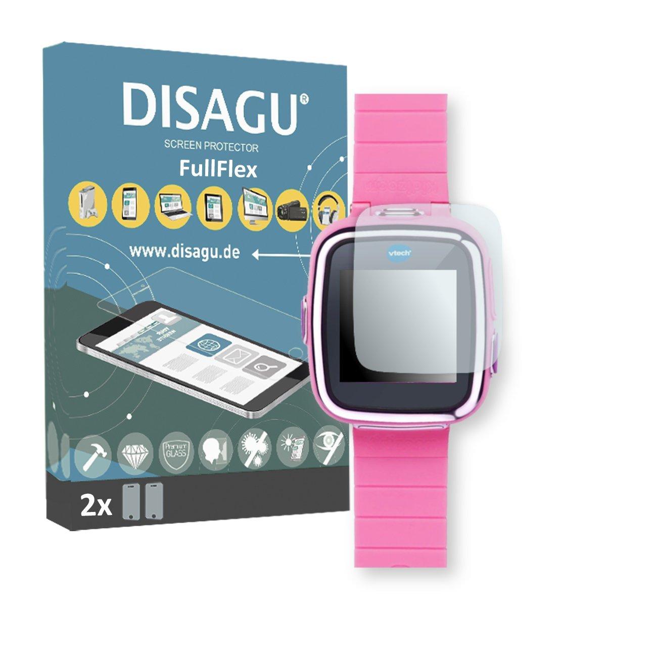 DISAGU 2 x FullFlex screen protector for Vtech Kidizoom Smart Watch 2 foil screen protector