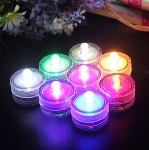 Wedding Decoration Waterproof Driving Light Submarine Tea Led Candle