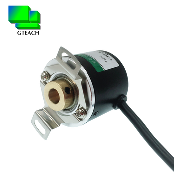 Hollow shaft rotary encoder diameter 38mm hole 8mm type optical incremental rotary encoder