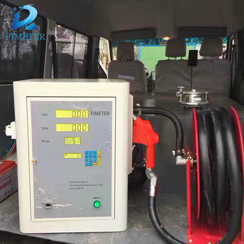 Machinary fuel flow meter, used fuel dispenser for sale with electric gear oil pump