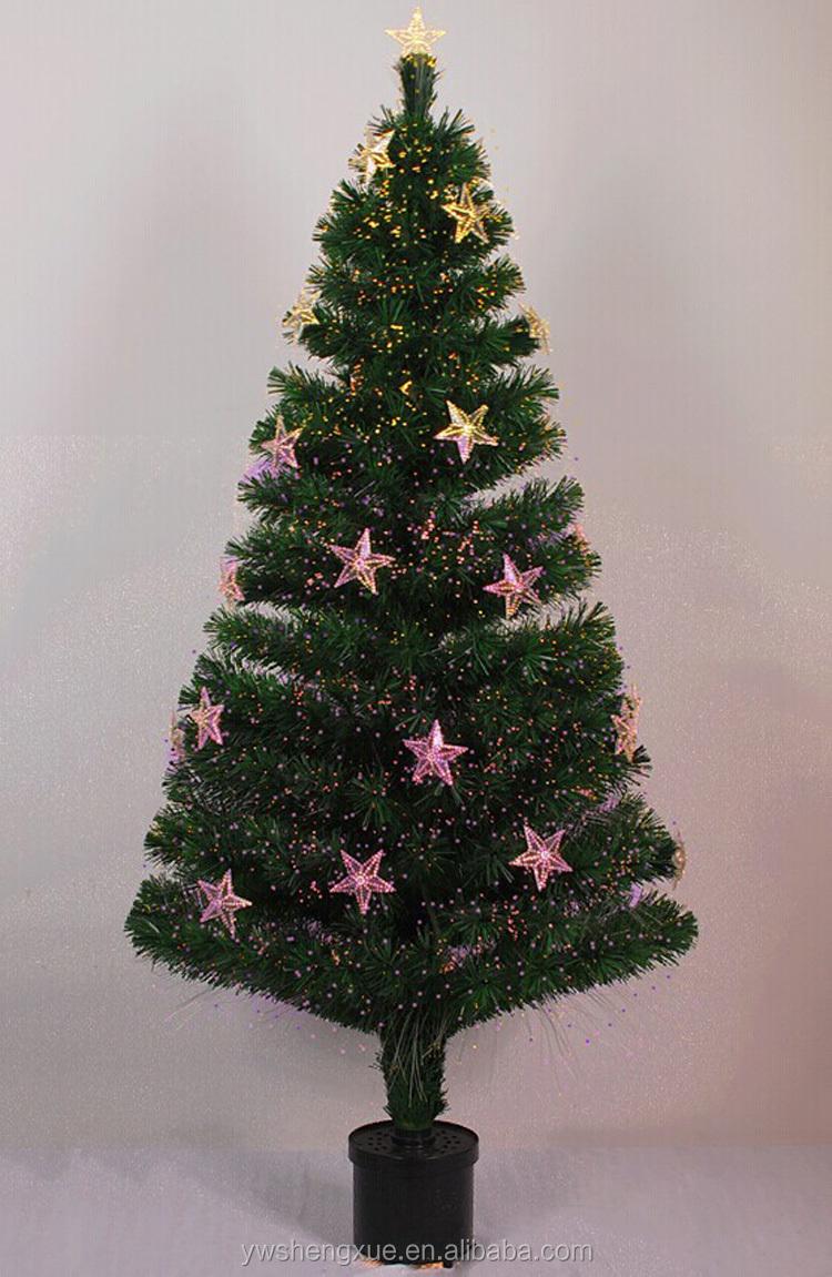 Artificial Christmas Tree Led Rainbow Optical Fiber Christmas ...