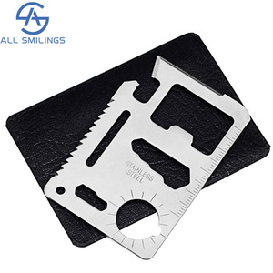 outdoor survival military gear army survival folding card multi tool , survival card multitool card