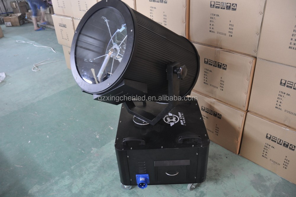 NEW!!! outdoor sky search light/sky rose light /city color light with 2KW-7KW xenon lamp