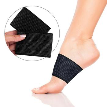 Arch Compression Sleeve Flat Feet Elastic Copper Bandage Foot Brace Copper Infused Arch Support Sleeve Brace
