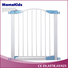 Auto close expandable baby pet dog safety gate 2016 retractable steel gate