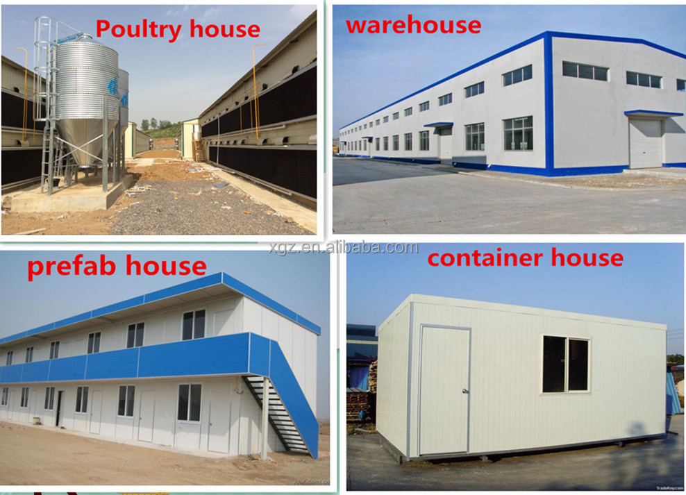 CE ISO SGS Approved Storage Steel Feed Mill Workshop/Warehouse