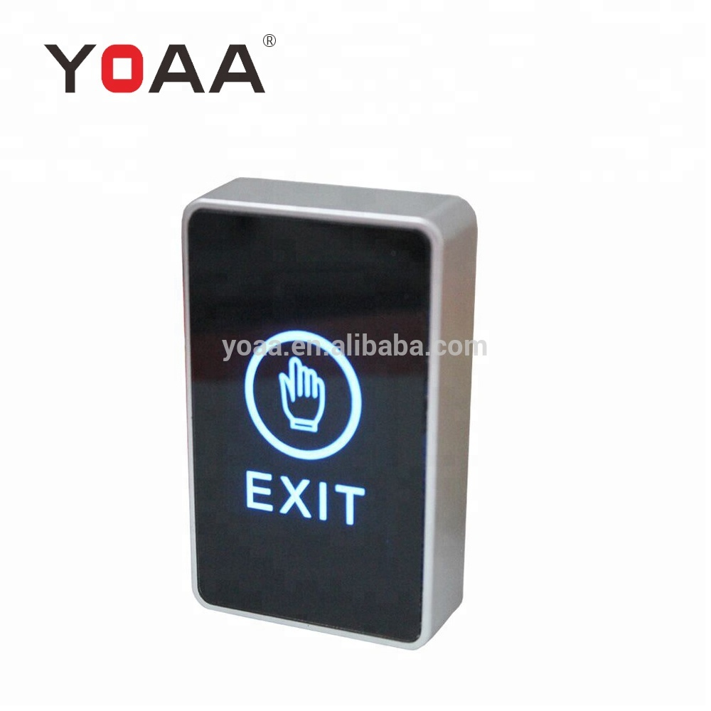 <strong>Factory</strong> Price Door Release <strong>Push</strong> <strong>Button</strong> Switch Touch Exit <strong>Button</strong> With LED Indicate