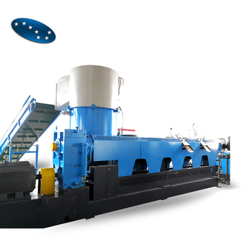 LDPE recycled plastic pelletizing machine