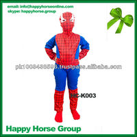 Spiderman kids costumes Halloween Cospay Costumes for Kids Children