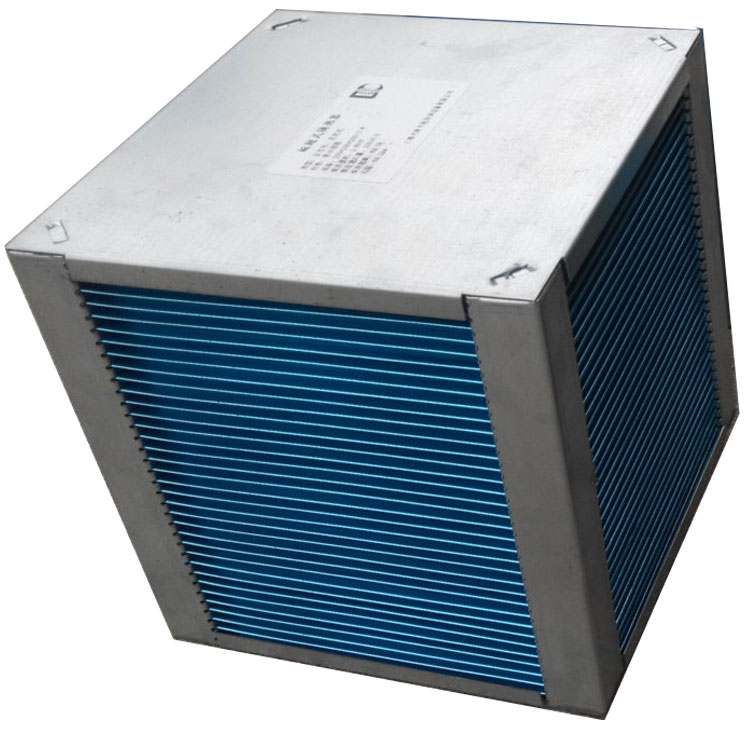 Verse lucht overhandigen unit crossflow 0.13mm dikke aluminium folies energie herstel warmtewisselaar
