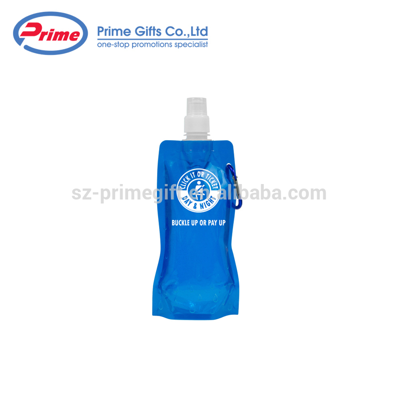 Hot Selling Customize Logo High Quality Plastic Foldable Water Bottle