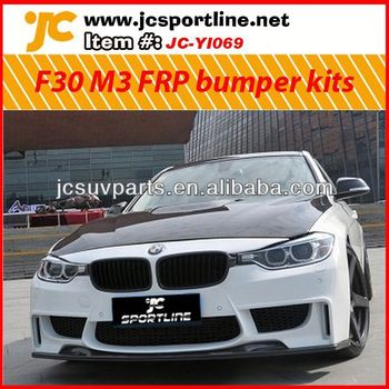 car frp facelift f30 m3 body kit auto body repair kit for bmw f30