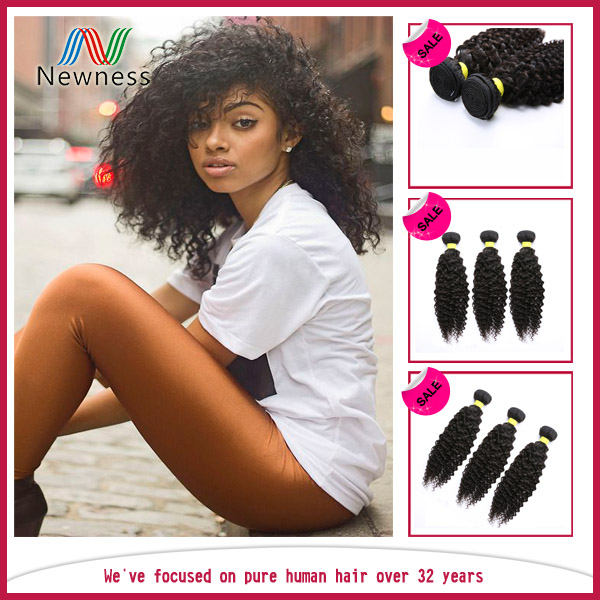 Low price virgin malaysian curly hair