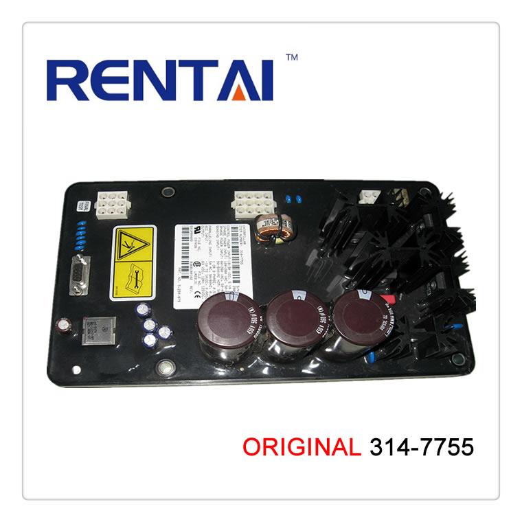 original generator electric circuit diagram alternator voltage regulator  avr 314-7755